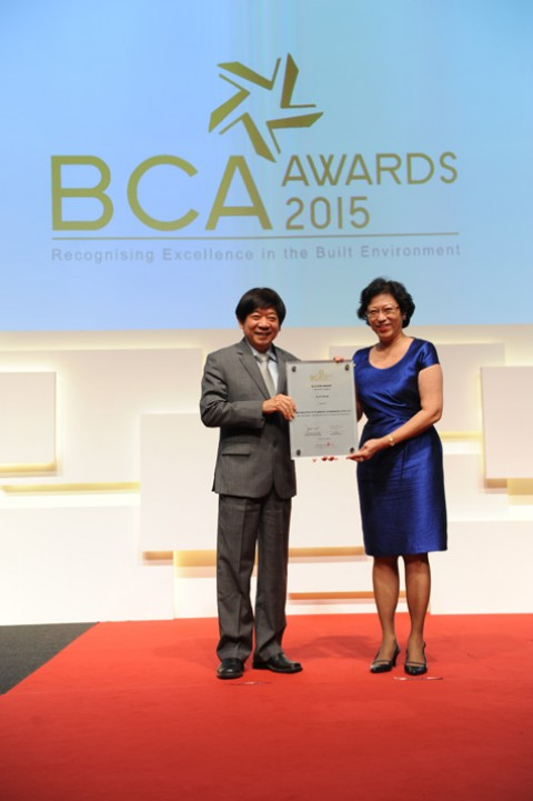 Singapore BCA BIM Awards 2015 (Project)